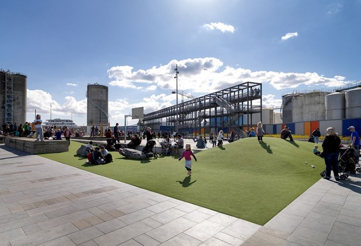 Fun for the family at Silo Park in Wynyard Quarter | Auckland NZ
