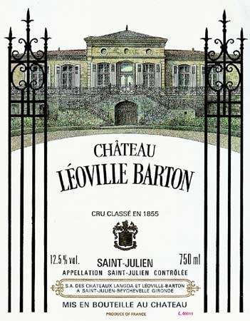 Leoville Barton - their second wine is good too