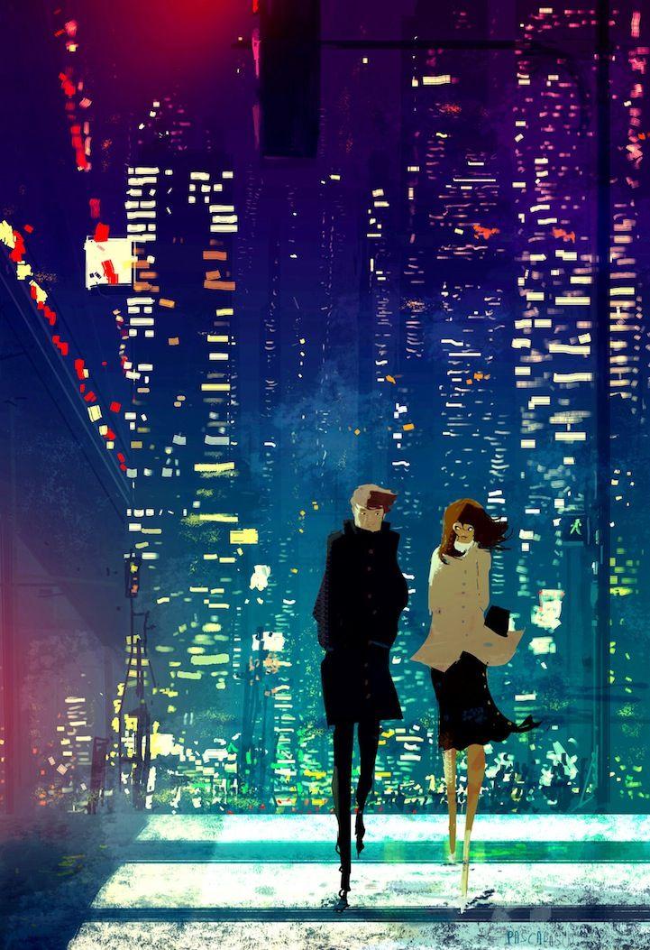 ILUSTRACIONES vibrantes Celebrar la magia de la vida cotidiana '- Mi Metrópolis Moderna