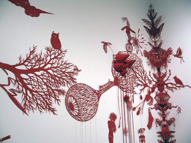Kako Ueda Totem: New Paper Cut Outs