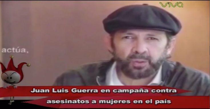 Juan Luis Guerra Se Une A Campaña En Contra De La Violencia De Género Junto A Varios Artistas