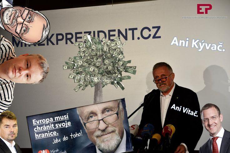 České prezidentské volby 2018 - Mirek Topolánek/Czech Presidential Election 2018 - Mirek Topolanek