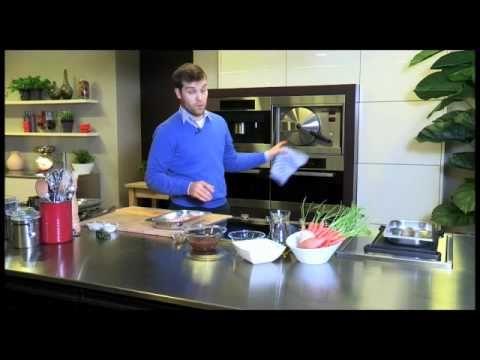 Lamsfilet. Een Njam! recept in de Miele stoomoven - YouTube