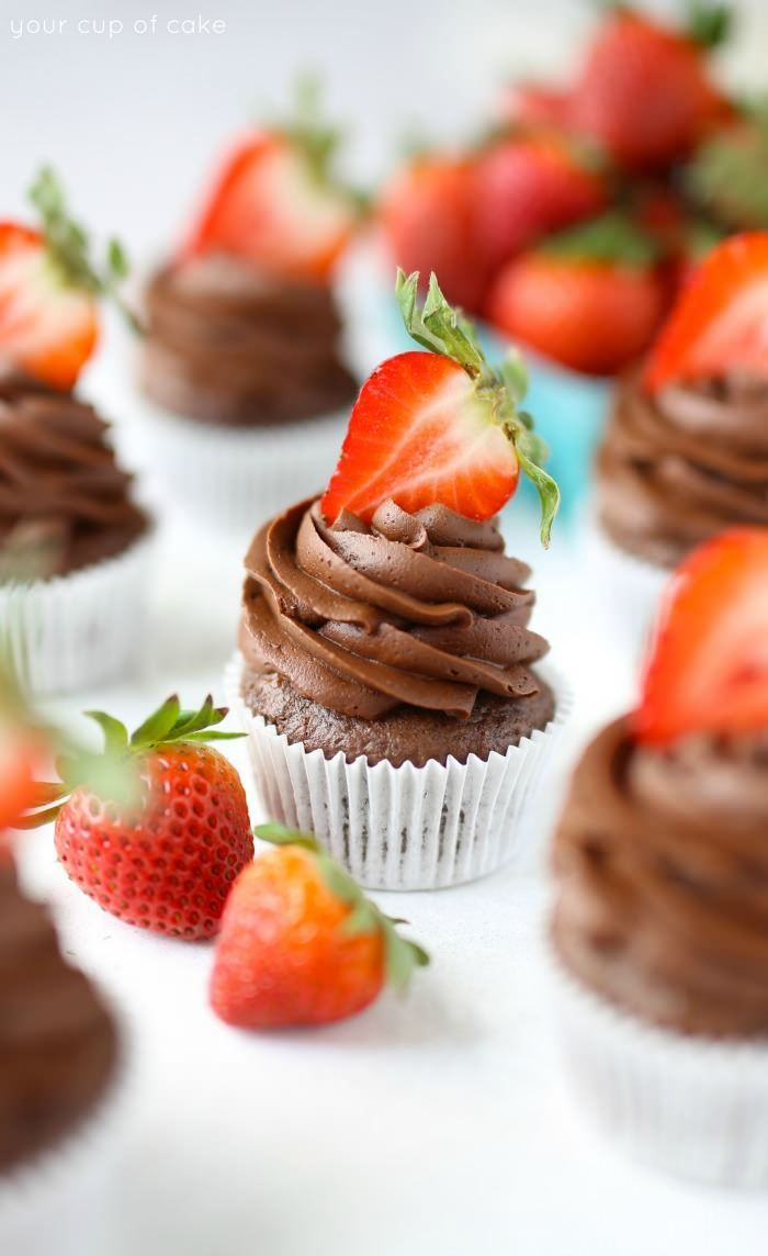 Decadent whipped chocolate ganache frosting