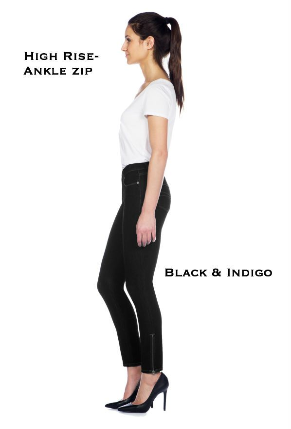 Ankle zip Yoga Jeans @ Lousje & Bean Boutique