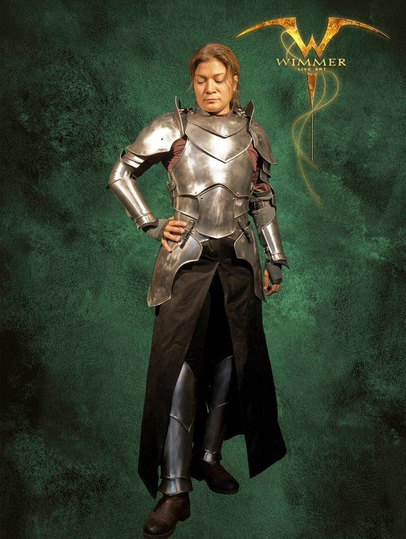 Metal Armor For Larp Very Movable Complete Steel Armor For Etsy Armor Larp Female Armor
