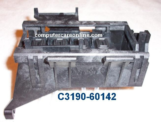HP C3190-60142 DesignJet Plotter Service station assembly  C3190-60142 Genuine New OEM HP DesignJet Plotter part Service station assembly - Mounted behind primer assembly - Four tubes from ink separator plug into assembly  http://www.computercareonline.com/c3190-60142-designjet-plotter-service-station-assembly-p-90.html