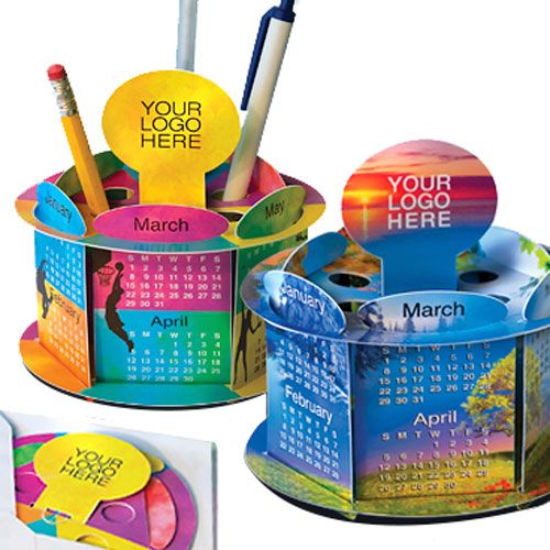 RoundShow Pop-Up Calendar | Cool Promotional Calendars from China Manufacturers