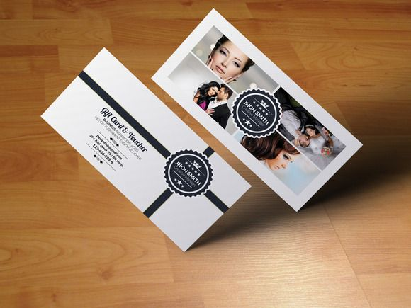 Fashion Business Gift Voucher by Psd Templates on Creative Market