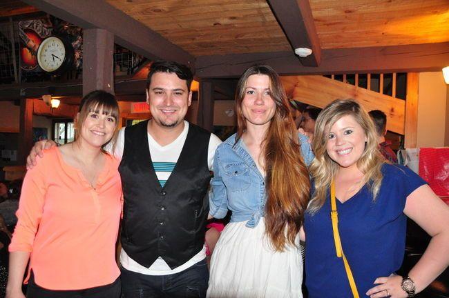 Les artistes Joannie Benoît, Maxime McGraw, Amélie Hall et Marie-Pier Perreault font partie de la première saison des Jeudis Taxi.