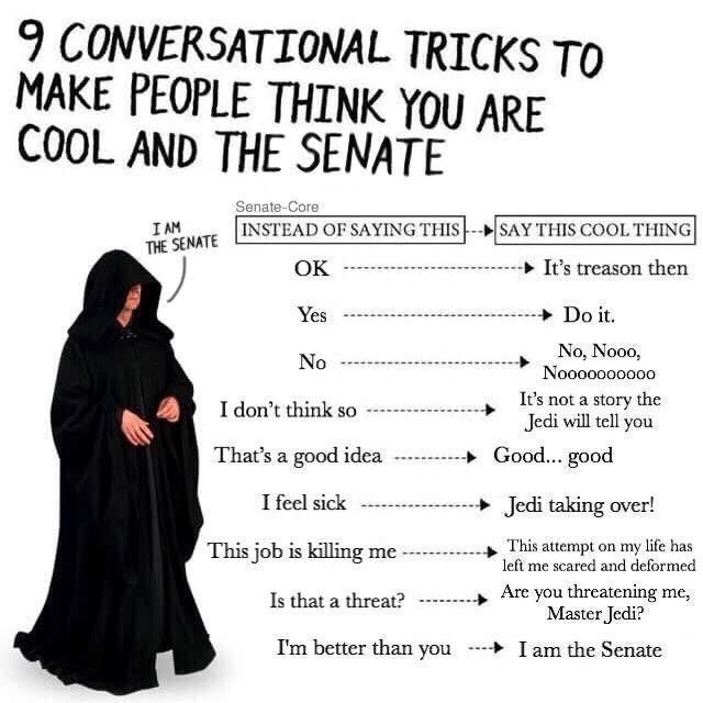 40 Prequel Memes That Ll Give You The High Ground Star Wars Humor Star Wars Facts Star Wars Jokes