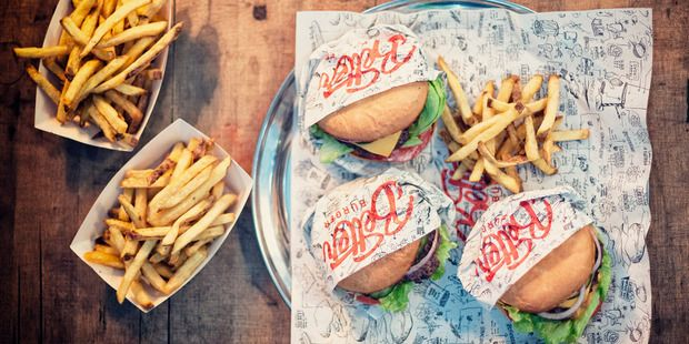 A brand new burger joint has opened in Britomart and it's booming.