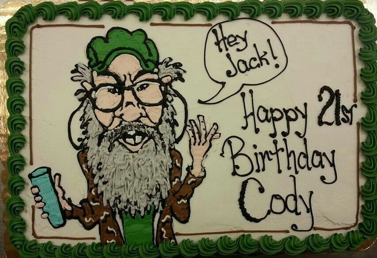 Duck Dynasty Cake, Duck Dynasty Party, Uncle Si, Birthday Ideas, Camo ... my mom made this for a friend