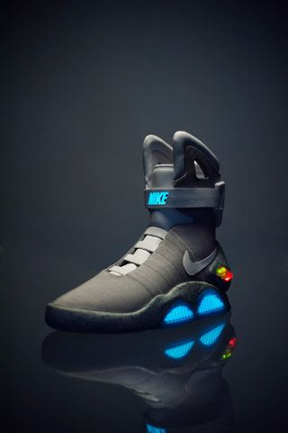 "Nike Air MAG: I think I can speak for many people that the first time I saw ""Back to the Future"", I've been wanting these shoes. If only I had $8,000 :/"