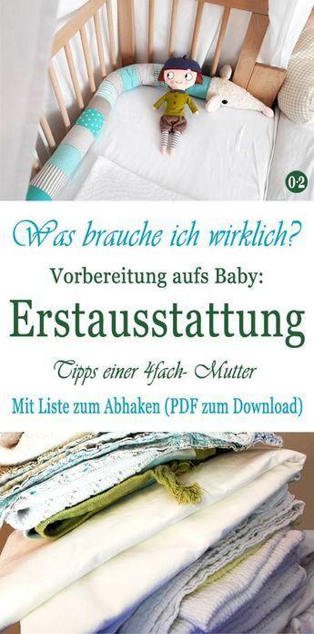 Entspannt auf das Baby vorbereiten: Meine Bucket List {Mit Originalausrüstung zum Download}   – baby