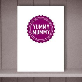 Yummy Mummy Mother's Day Card by Eskimo Circus