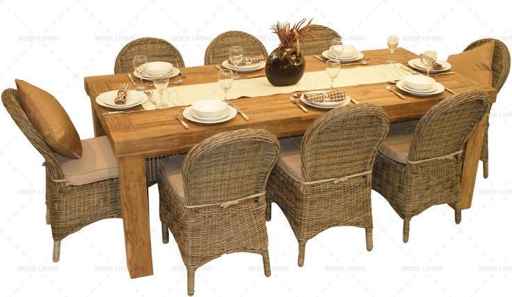 33 mejores imágenes de Rattan Garden Dining Sets en Pinterest ...