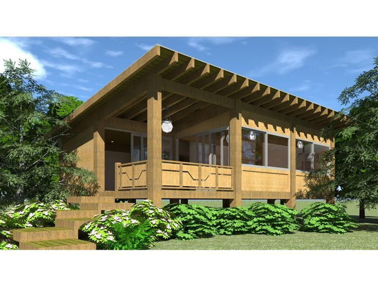 56 best cabin house plans images on pinterest cabin house plans cabin floor plans and modern - Summer house plans delight relaxation ...