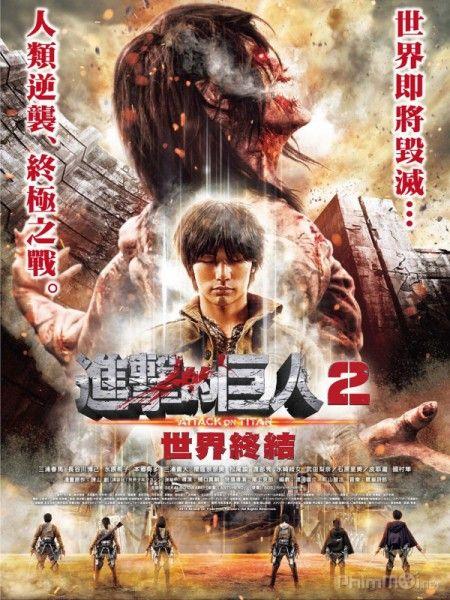 Phim Đại Chiến Titan 2: Tận Thế