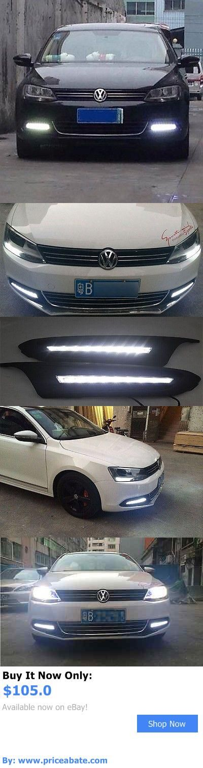 Motors Parts And Accessories: 2X Led Daytime Running Fog Light Lamp Drl W Signal For Vw Jetta Mk6 2011-2013 BUY IT NOW ONLY: $105.0 #priceabateMotorsPartsAndAccessories OR #priceabate