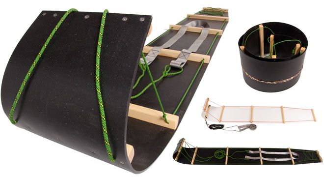 Freight Toboggan - Canadian Made - Canadian Outdoor Equipment Co.