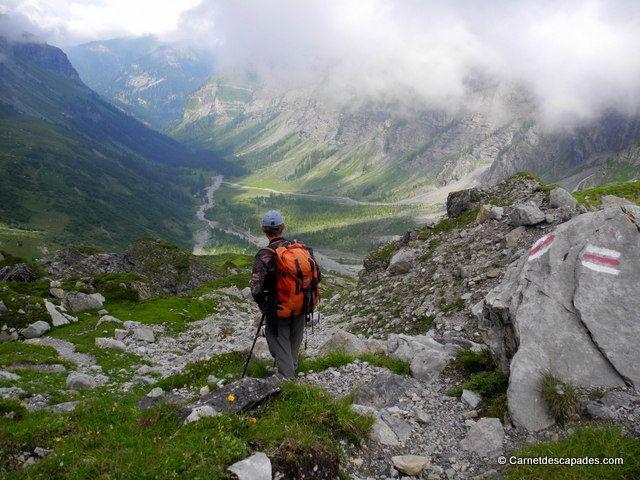 Randonnée en Suisse - Tour des Muverans - Carnet d'escapades www.villars.ch  #villars #villarsgryon #tourdumuveran