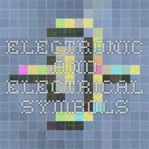 25  unique electrical symbols ideas on pinterest
