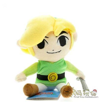 Легенда о Zelda 14 см фантом песочные часы плюшевые игрушки