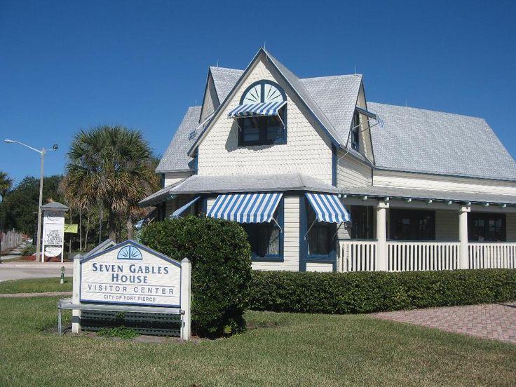 Seven Gables House. Fort Pierce, FL