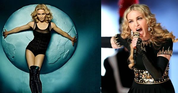 "How are we supposed to age? Are you inspired by Madonna or not?  I am inspired by the QUEEN OF POP...TO ME SHE IS THE ""BEST"" ENTERTAINER/HUMAN BEING IN THE WORLD!"