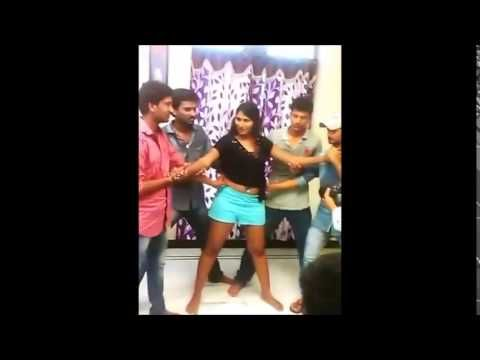swathi naidu romantic song making video