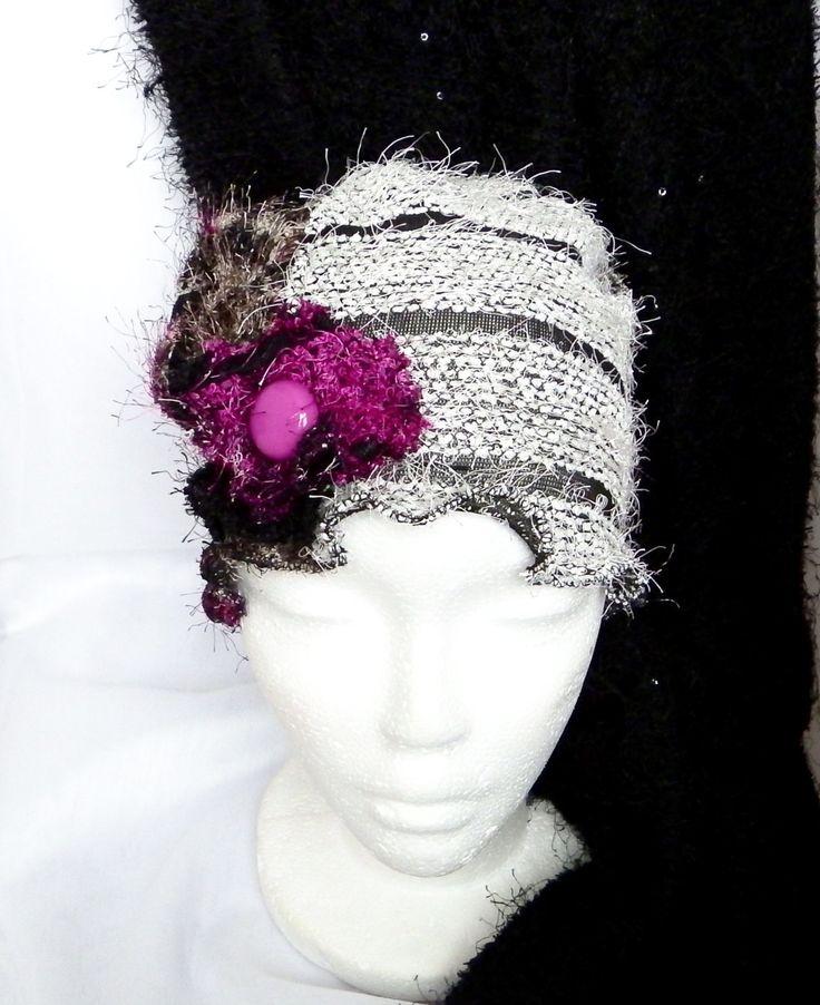Pour le temps des fêtes! Chapeau chimio femme, bonnet souple cancer, ado, béret, tuque, perte de cheveux, couvre tête,  fait à la main. de la boutique BleuKaktus sur Etsy