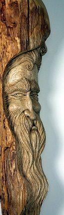 Check out http://shawnscarvings.com! Shawn Cipa, Woodcarver. Custom walking sticks and canes, Folk carvings, and other custom woodcarved artwork. www.shawnscarvings.com