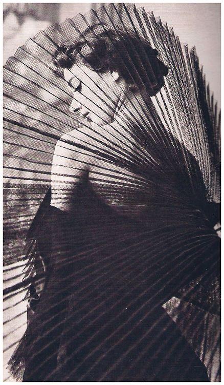 Audrey Hepburn by Horst P. Horst, 1949.