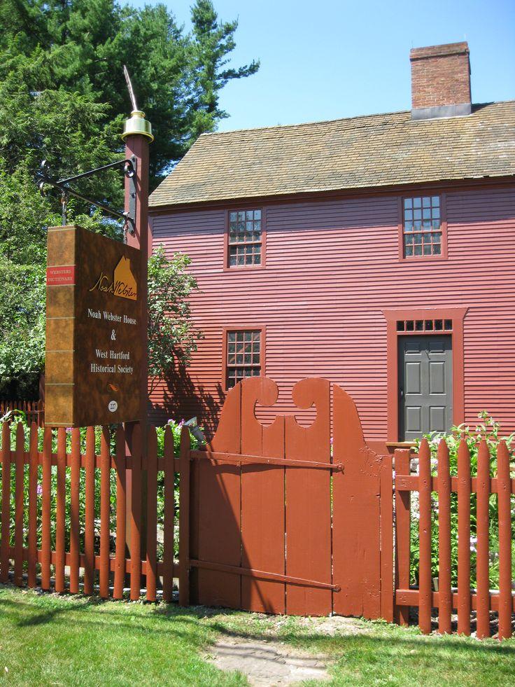 Noah Webster House & West Hartford Historical Society, West Hartford, Connecticut