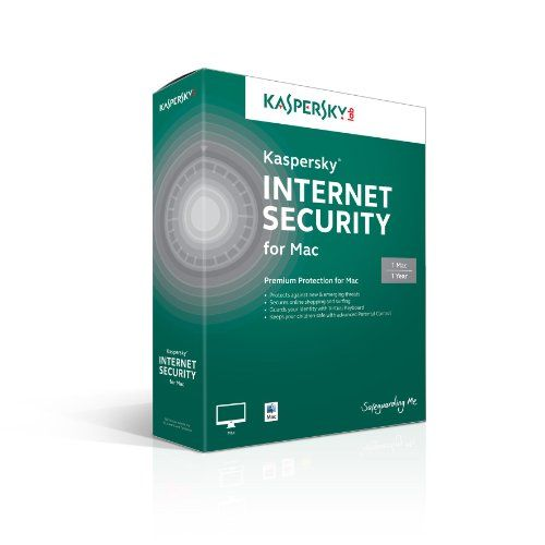 BUY NOW Kaspersky Internet Security for Mac 1 User, 1 Year [Online Code] Premium Mac Protection: Kaspersky Internet Security for Mac ensures
