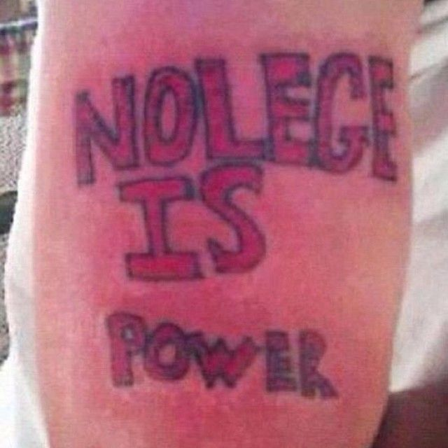 25 Tattoos These Morons Will Regret Forever