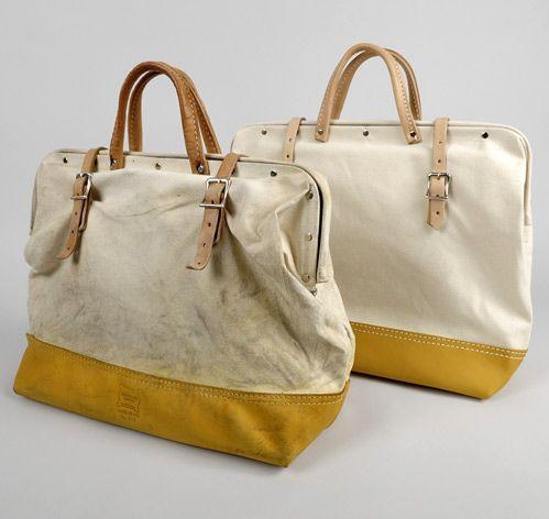 canvas mason bag