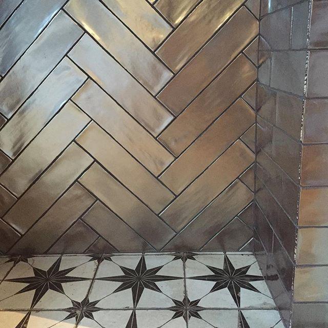 Industrial Metal Silver Metallic Wall Tile 7 5x30cm Metallic Wall Tiles Metal Interior Design Silver Tile