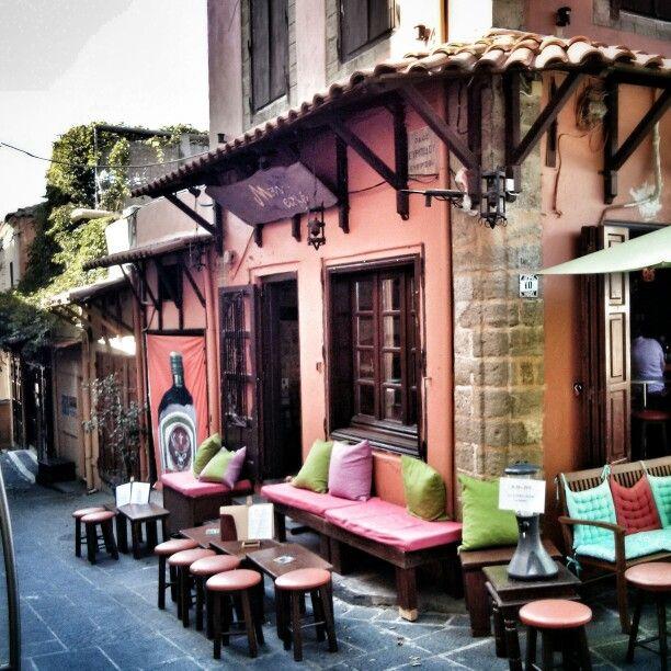 Mon cafe, old town -Rhodes-Greece