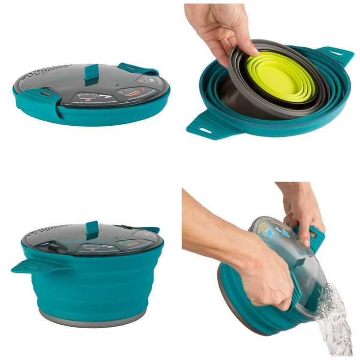 X-Pot Is The Best New Line Of Outdoor Cooking Gear For Family Camping Trips  ... see more at InventorSpot.com