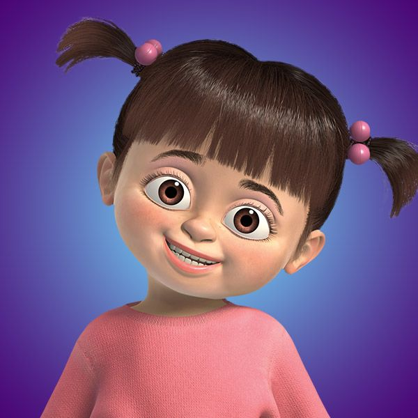 my favorite character ever in all the pixar characters~Boo