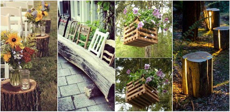 27 de proiecte DIY din lemn pentru exterior Bugetul mare necesar pentru materialele din care dorim sa construim decoratiuni ne opreste din a ne pune proiectele in practica. Vedem proiecte DIY din lemn http://ideipentrucasa.ro/27-de-proiecte-diy-din-lemn-pentru-exterior/
