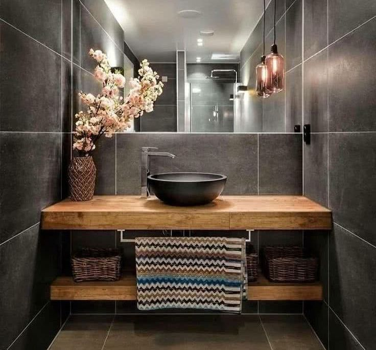 9 Design Tips for a Modern Bathroom Makeover – #ba…