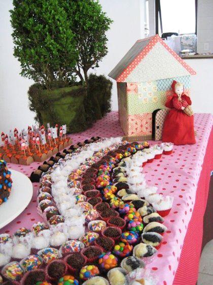 20 ideias para decorar a festa no tema Chapeuzinho Vermelho - Blog da Mãe Coruja