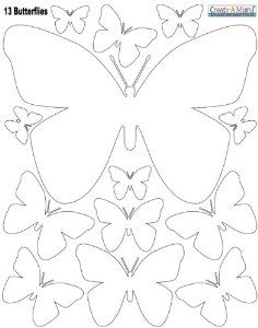 Amazon.com: White Butterfly Wall Decals (13) Peel & Stick Removable Beautiful Butterfly Wall Decals: Furniture & Decor