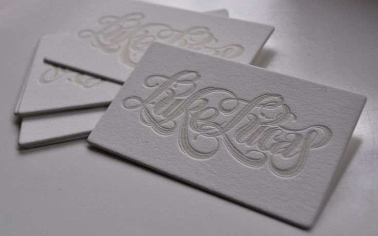 Business Cards 2012 - Luke Lucas – Typographer | Graphic Designer | Art Director
