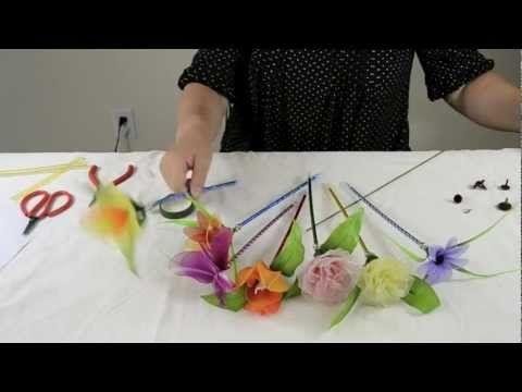 FREE VIDEO TUTORIAL ~ How to Make Nylon Flower Pen
