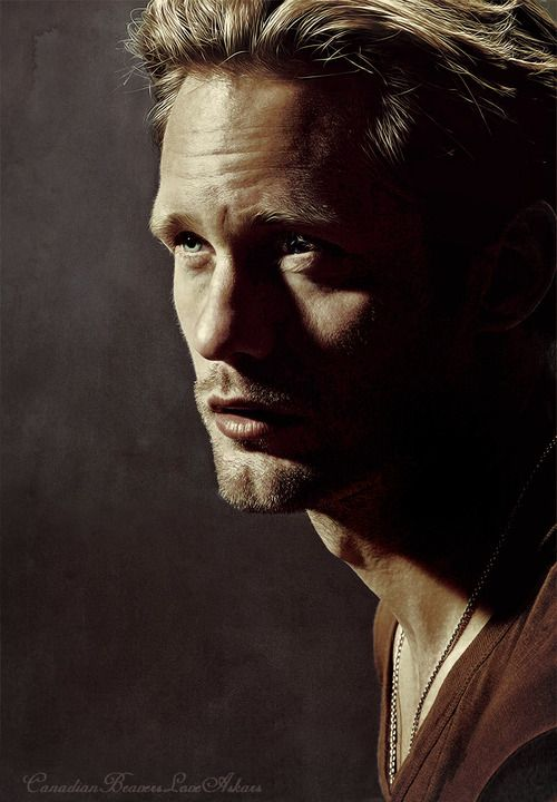 Alexander Skarsgard/ Eric Northman- not many blonde haired/ blue eyes I think are hot- this one is oh so hot!