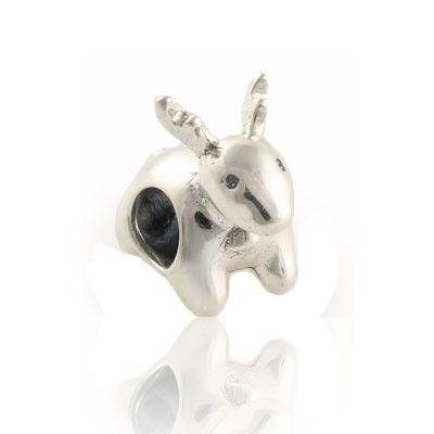 Pandora Sterling Silver Deer Beads Charms FJ223 Australia: